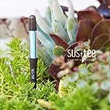 植物用水分計サスティーMサイズブラウン 3本セット[色の変化で水やりのタイミングをお知らせ!]