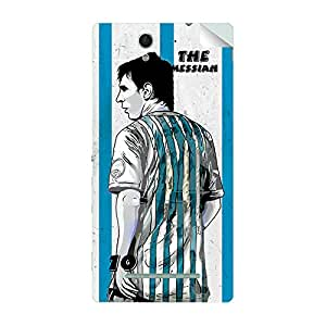 ezyPRNT Sony Xperia C3 Dual Lionel Messi 'Messiah' Football Player 3 mobile skin sticker