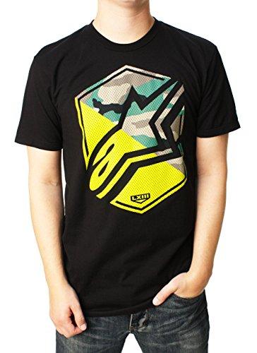 ALPINESTARS Men's Disruption T-Shirt, Black, Medium