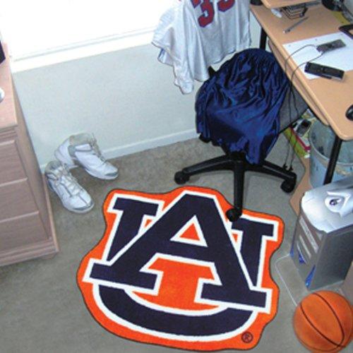 FANMATS NCAA Auburn University Tigers Nylon Face Mascot Rug
