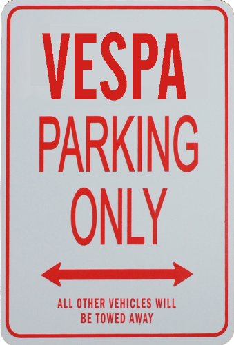 vespa-parking-only-sign