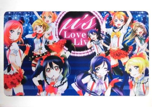 ラブライブ! LoveLive μ's カードゲーム プレイマット デスクマット YA