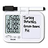 Taylor 5849 Quad Kitchen Timer with Whiteboard