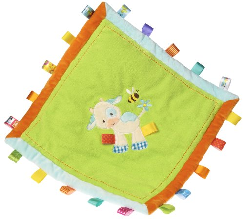 Taggies Casey Cozy Blanket, Cow front-616124