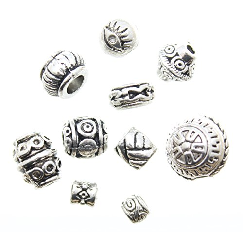 100pcs-mixed-celtic-pagan-tribal-wiccan-silver-metal-spacer-beads-avbeads