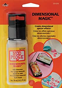 Plaid Mod Podge Dimensional Magic Glue