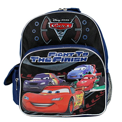Disney Cars 2 Mc Queen Toddler Kids Backpack Bag Tote 12