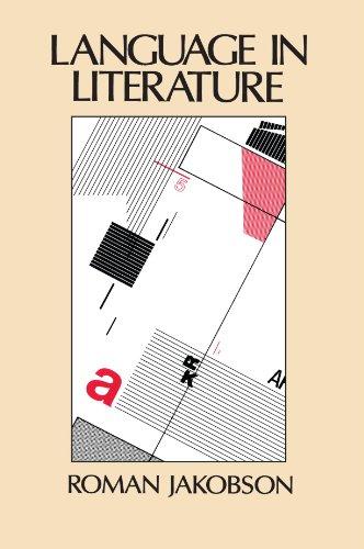 Language in Literature (Belknap Press)