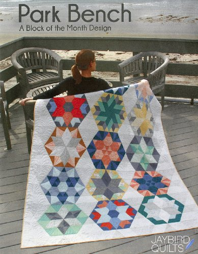 Park Bench: A Quilt Block of the Month Design