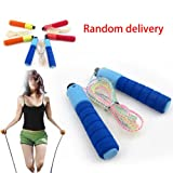 Skipping Rope with High Jump Auto Counter For Exercise & Fitness (Colors May Vary)