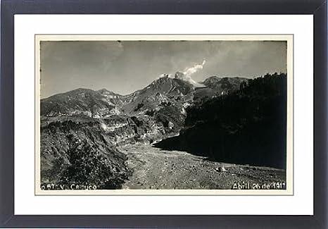 Framed Print of Chile - Calbuco Volcano