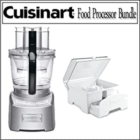 Cuisinart FP-14 Elite Collection 14-cup Food Processor With Cuisinart Accessory Storage Case