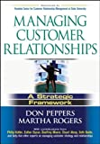 img - for Managing Customer Relationships: A Strategic Framework by Don Peppers (2004-04-19) book / textbook / text book