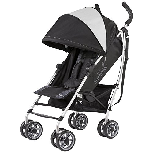 Summer Infant 3D Zyre Convenience Stroller, Glacier Grey