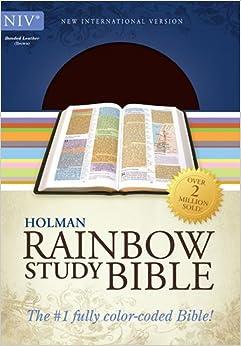 Rainbow Study Bible, NIV