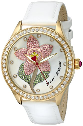 betsey-johnson-womens-quartz-metal-and-leather-automatic-watch-colorwhite-model-bj00517-01
