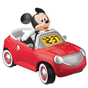 Walt Disney Co Mickey Mouse Mickey Mouse Rockin' Ride Alarm Clock at Sears.com