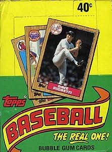 1987 Topps MLB Baseball Original Unopened Vintage Hobby Wax Box by Topps