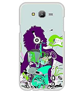 iFasho Boy dancing with music box Back Case Cover for Samsung J5