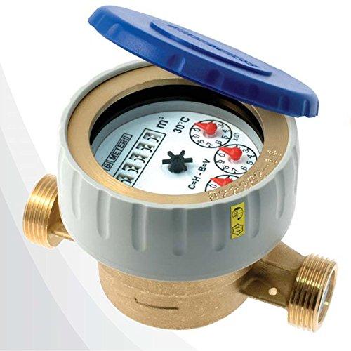 Meters CONTATORE PER ACQUA NEW DIAN MODELLO BAGNATO - 1/2