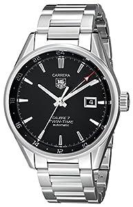 TAG Heuer Men's WAR2010.BA0723 Carrera Analog Display Swiss Automatic Silver Watch