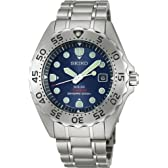 [セイコー]SEIKO 腕時計 PROSPEX プロスペックス ダイバースキューバ チタン ソーラー 逆回転防止ベゼル ブルー SBDN003 メンズ