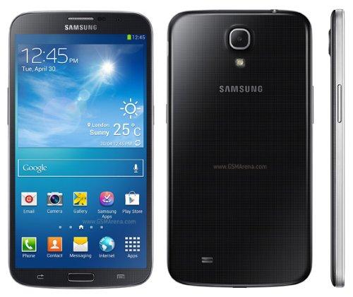 Samsung GALAXY Mega 6.3 (SIMフリー, 海外携帯) (8GB, BLACK ブラック)