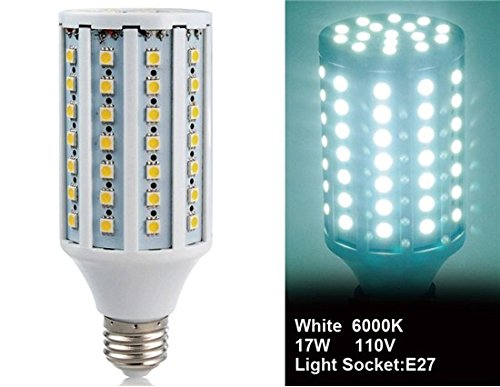 E27-86L-110V 15W E27 86X5050Smd White Led Corn Bulb