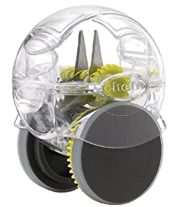Chef'n GarlicZoom XL Rolling Garlic Chopper, Avacado