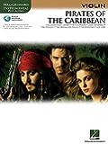 Klaus Badelt Pirates Of The Caribb(Violin) Vln Book/Cd