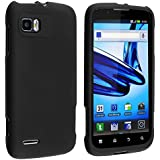 Rubberized Hard Case Cover for AT&T Motorola Atrix II/MB865 - Black