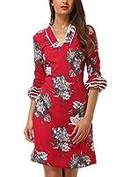Almatrichi Vestido Sofia (Rojo)