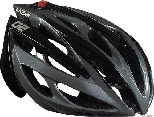 Buy Low Price 2009 Lazer 02 (OXYGEN) RD Road Black/Gray XX-Large Helmet 62-64cm (B001H7WE7C)