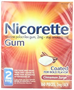 Nicorette 2mg Coated Cinnamon Surge 160 Pieces