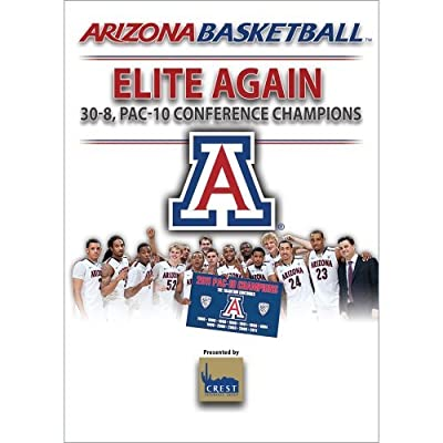2010-2011 Arizona Men's Basketball Season Commemorative Dvd