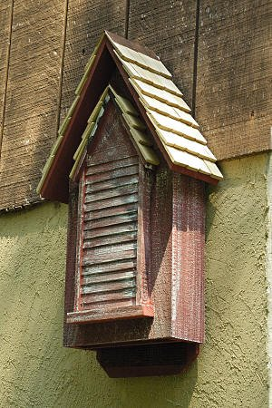 Redwood Victorian Bat House