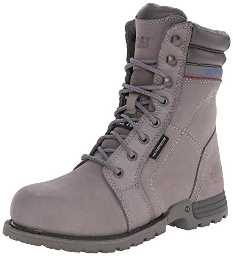 Caterpillar Women's Echo WP ST Work Boot, Frost Grey, 7 M US