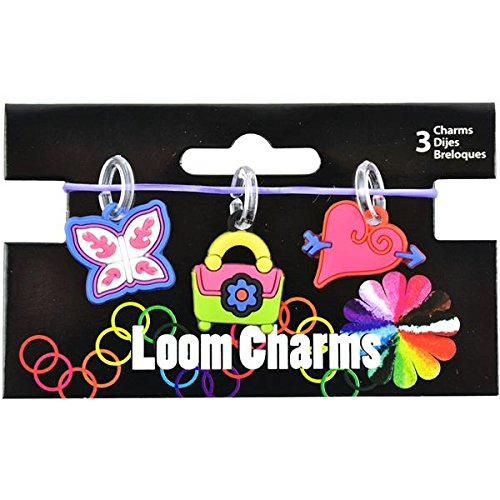 Touch of Nature Loom Band Charms for Jewelry, Diva, Assortment