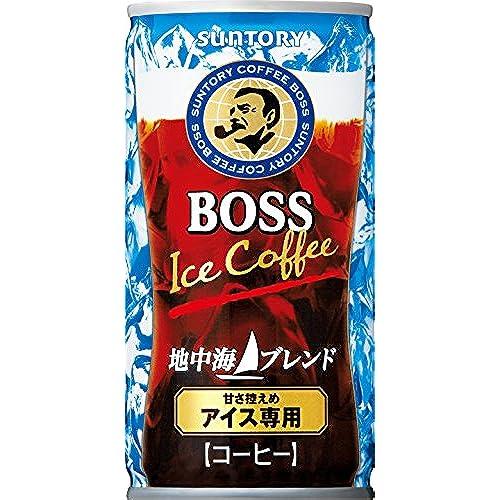 [일본 산토리 보스 캔커피 / SUNTORY BOSS COFFEE] 산토리 보스 지중해 블렌드 185g×30개