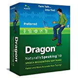 Dragon NaturallySpeaking Preferred 10.0, Education Version (PC DVD)by Nuance Communications,...