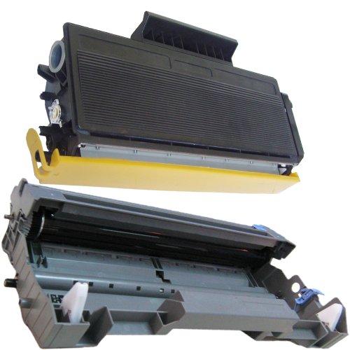 (1 Drum + 1 Toner) Inktoneram® Replacement Toner Cartridges & Drum For Brother Tn650 Dr620 Toner Cartridges & Drum For Brother Dr-620 Tn-650 Set