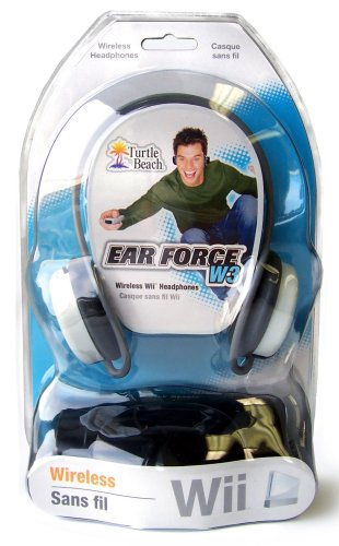 Ear Force W3 Stereo Wireless Headphones - Nintendo Wii