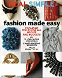 Real Simple September 2011 Fashion Made Easy - 91 Classic Styles for All Bodies and Budgets, 33 Low-Calorie Snack Ideas, 5 Mood-Boosting Workouts, Salon Etiquette 101