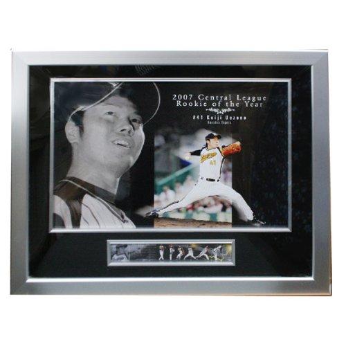 阪神タイガース 上園啓史 セ・リーグ 新人王記念 オフィシャル 限定フォトプラーク 110123