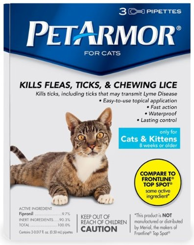 Pet Armor For Cats (3 Month)
