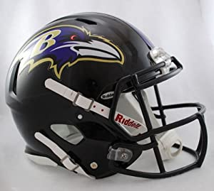 NFL Baltimore Ravens Speed Authentic Football Helmet by Riddell