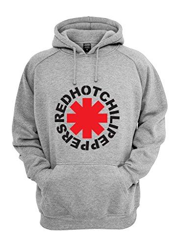 Felpa Shirt con cappuccio Red Hot Chili Peppers grigio M