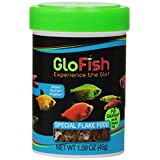 GloFish 77003 Special Flake Food for Fishes, 1.59-Ounce