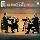 モーツァルト:弦楽四重奏曲第15番・第17番<狩>
