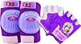 Bestway Bell Sofia The First Protective Gear with Elbow Pads/Knee Pads and Gloves